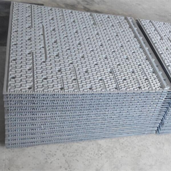 950mm950mm Cooling tower fill Provider, Popular PVC plastic filling sheets, Cross-flow PVC fills