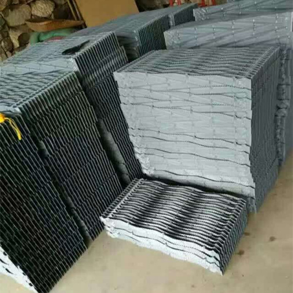 Low price classical kingsun cooling tower packing, cooling tower fill PVC infill film media Kuken cooling tower fill