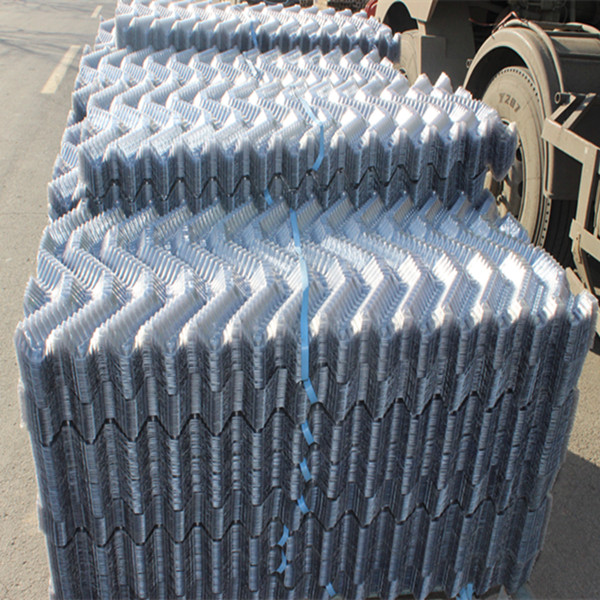 Durable top sell thermoforming cooling tower fill, Cooling Tower PVC Sheet Fill, S Wave Cooling Tower pvc Fill