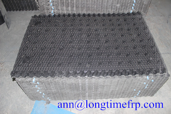 black cooling tower fill