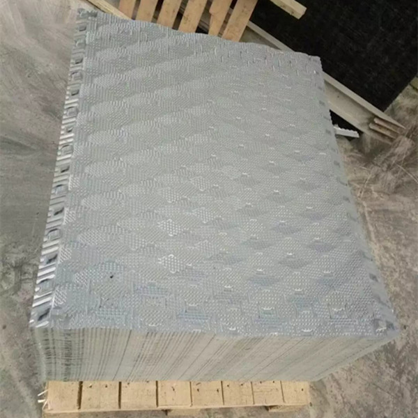 spindle cross flow cooling tower pvc sheet