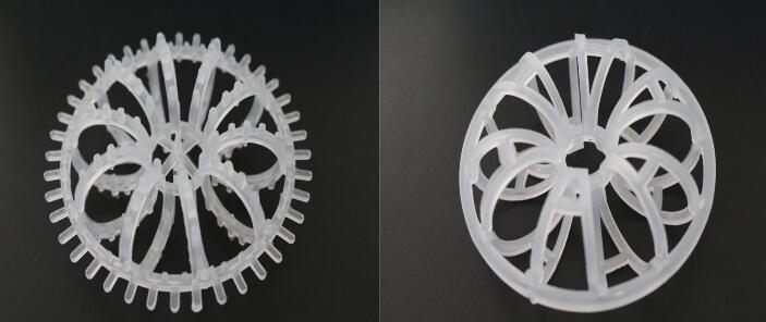Plastic Teller Rosette Ring packing